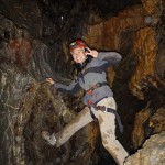 August: Caving on the island
