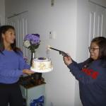 October: Celebratory cake
