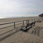 Coney Island boardwalk on Wednesday