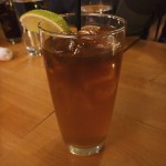 Not so Dark and Stormy drink