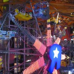 Toys R Us has a working ferris wheel inside!