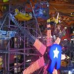 Toys R Us has a working ferris wheel inside!