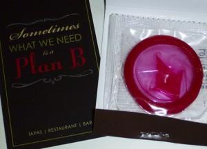Plan B Condom
